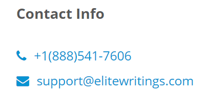 EliteWritings.com Support