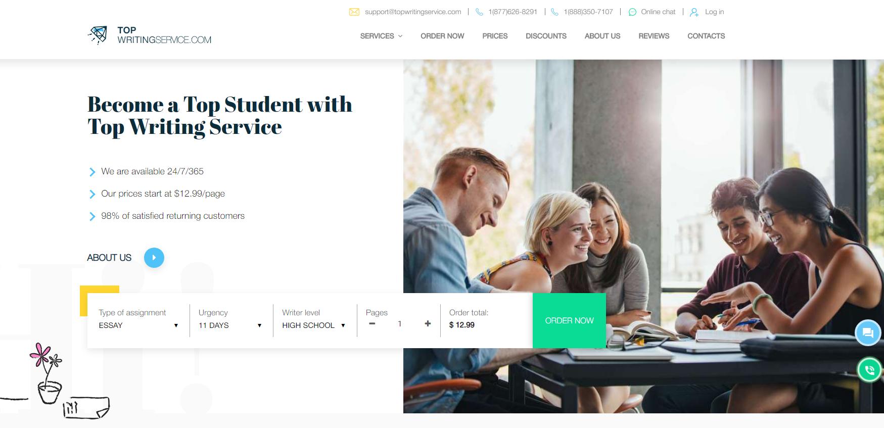 TopWritingService.com Review