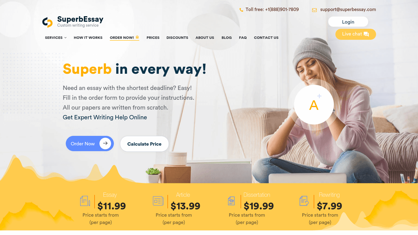 SuperbEssay.com Review